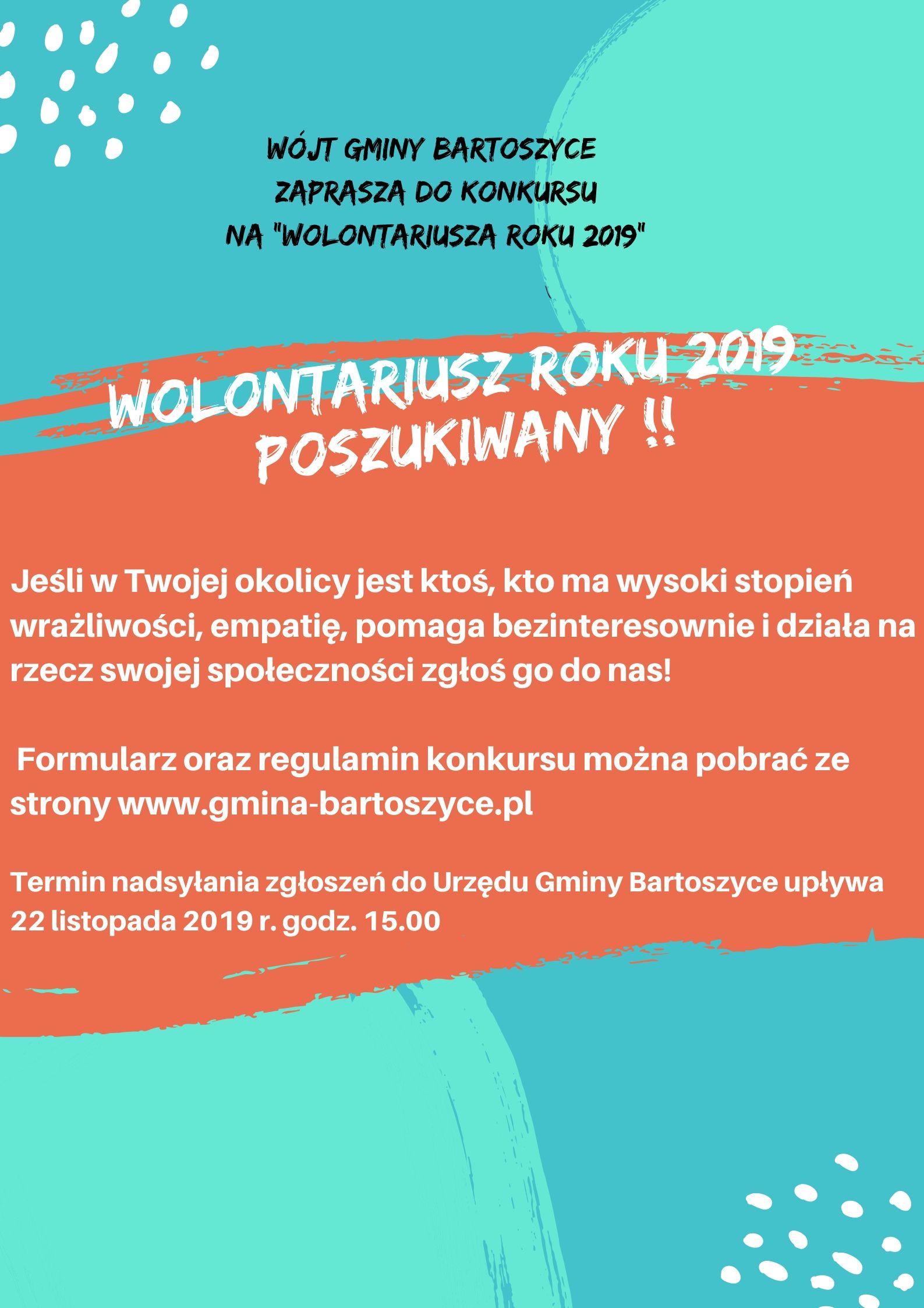 Baner: wolontariusz2019