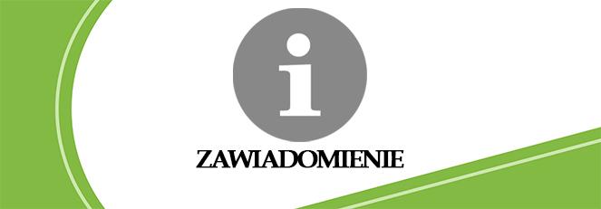 Ilustracja do informacji: Zawiadomienie o wyborach uzupełniających